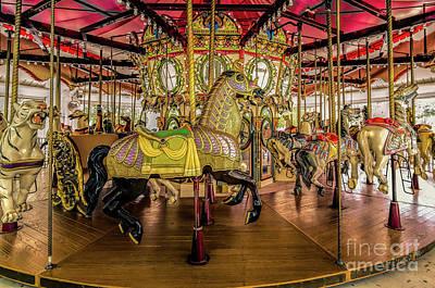 Photograph - Carousel - Nola- Lafreniere Park by Kathleen K Parker