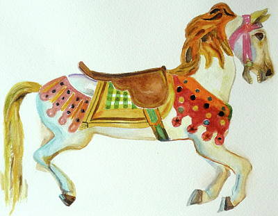 Carousel Pony Original by Renate Schliesmann
