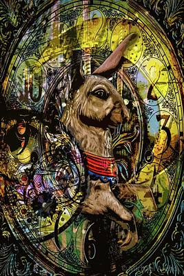 Photograph - Carousel Rabbit by Michael Arend