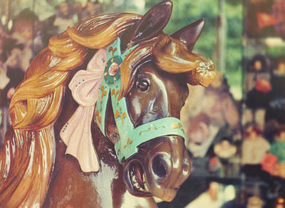 Photograph - Carousel Ride Of Old by Jamart Photography