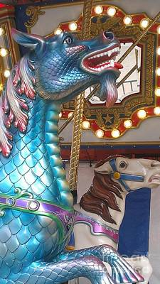 Carousel Seadragon Print by LKB Art and Photography