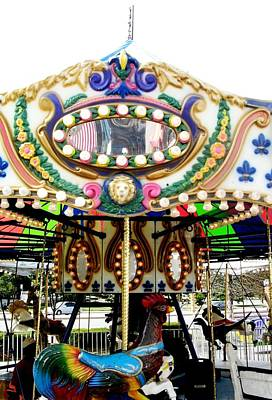 Photograph - Carousel- Springfield Days Festival by Fareeha Khawaja