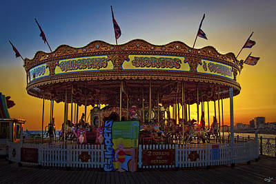Photograph - Carousel Sunset by Chris Lord