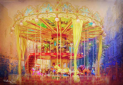 Photograph - Carousel by Wallaroo Images