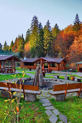 Transylvania Digital Art - Carpathian Mountains. Good Firewood. by Andy Za