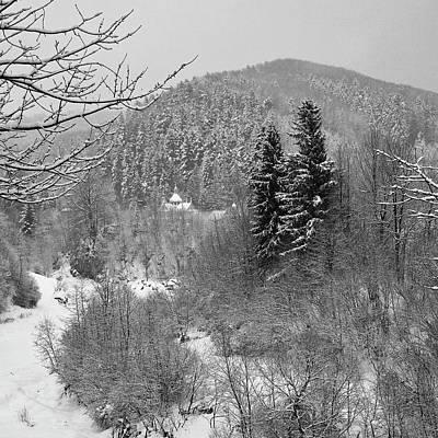 Carpathian Winter. Sheshory, 2010. Art Print