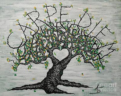 Carpe Diem Love Tree Original