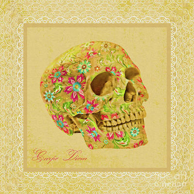 Carpe Diem Art Print by Olga Hamilton