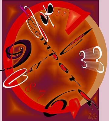 Time Digital Art - Carpe Tempora by Helmut Rottler
