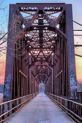 Photograph - Carpenters Bluff Bridge by JC Findley