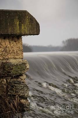 Photograph - Carpentersville Dam - 2 by David Bearden