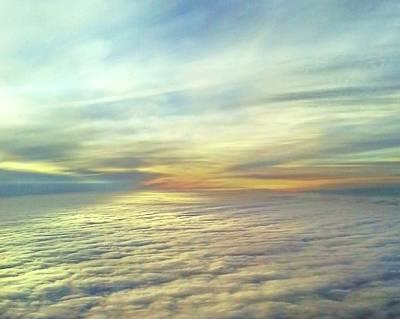 Digital Art - Carpet Of Clouds by Ellen Barron O'Reilly
