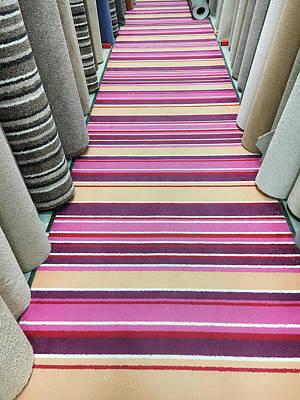 Carpet Store Art Print by Tom Gowanlock