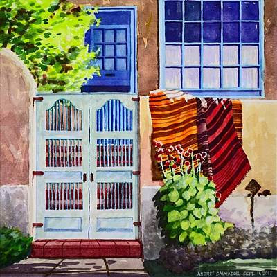 Painting - Carpets By The Gate by Andre Salvador