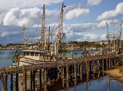 Carrabelle Harbor Art Print by Capt Gerry Hare