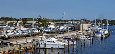 Photograph - Carrabelle Marina by Carla Parris