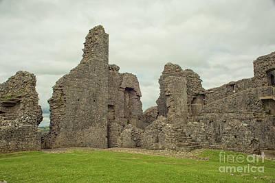 Photograph - Carrag Cennen Castle by Patricia Hofmeester