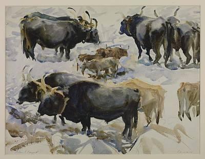Animals Painting - Carrara by John Singer