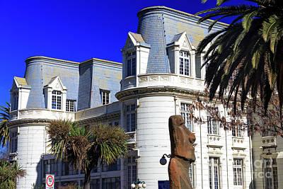 Photograph - Carrasco Palace Building Design In Vina Del Mar by John Rizzuto
