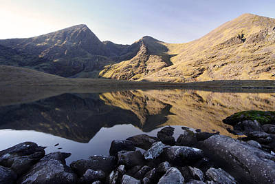 Carrauntoohill Ireland's Tallest Mountain Art Print by Pierre Leclerc Photography