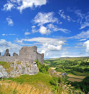 Carreg Cennen Castle 1 Art Print