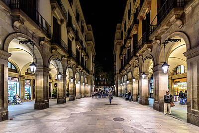 Photograph - Carrer De Colom by Randy Scherkenbach