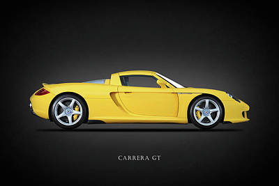 Carrera Gt Art Print by Mark Rogan