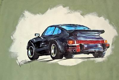 Carrera Art Print