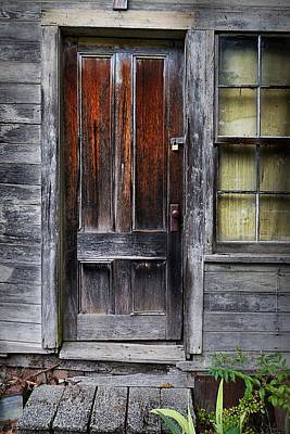 Photograph - Carriage House Door by Patricia Strand