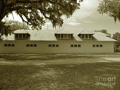 Photograph - Carriage House In Sepia by D Hackett