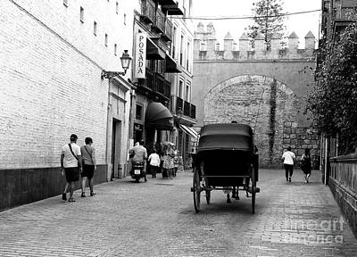 Photograph - Carriage On Calle Miguel Manara by John Rizzuto