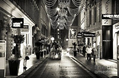 Photograph - Carriage Ride Down The Street by John Rizzuto