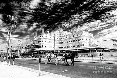 Photograph - Carriage Ride Through Cape May by John Rizzuto