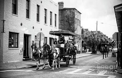 Photograph - Carriage Through City Market by John Rizzuto