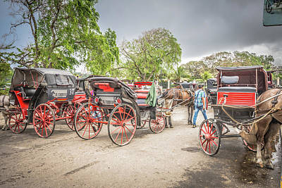 Photograph - Carriages by Bill Howard