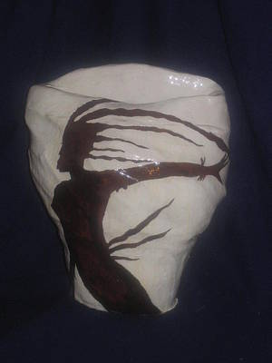 Ceramic Art - Carribean Lady  by Gloria Ssali