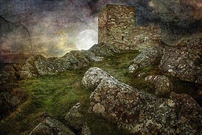 Carrickabraghy Castle Art Print by Pat Eisenberger