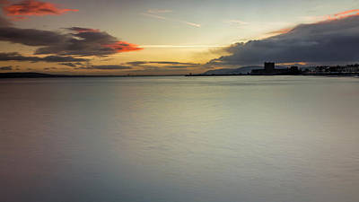 Photograph - Carrickfergus Castle At Twilight by Glen Sumner