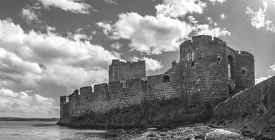 Ireland Photograph - Carrickfergus Castle by George Pennock