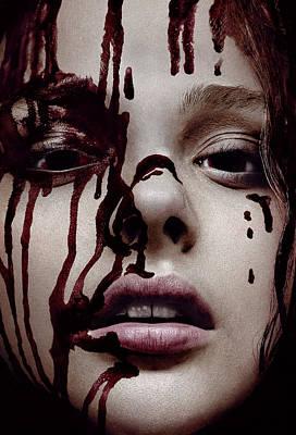 Scary Digital Art - Carrie 2013 by Fine Artist