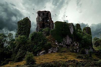 Photograph - Carrigogunnell Castle  by Jaroslaw Blaminsky