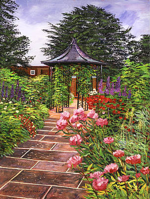 Carrington Garden Original by David Lloyd Glover