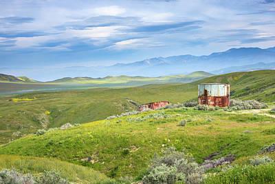 Photograph - Carrizo Plain - Old Water Tanks by Alexander Kunz