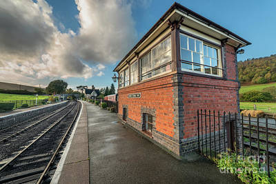 Photograph - Carrog Signal Box by Adrian Evans