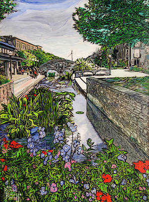 Painting - Carroll Creek 2016 by Ron Richard Baviello