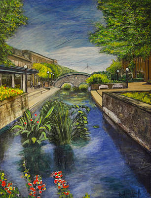 Painting - Carroll Creek by Ron Richard Baviello