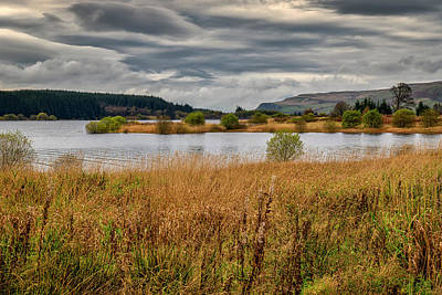 Photograph - Carron Valley Reservoir by Jeremy Lavender Photography