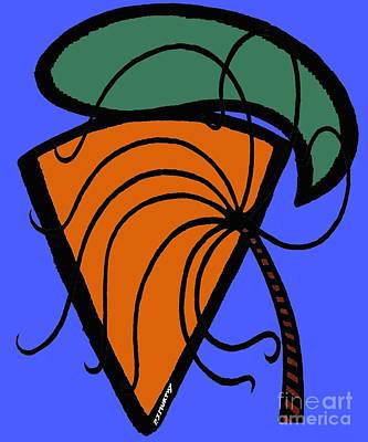 Carrot Mixed Media - Carrot And Stick by Patrick J Murphy