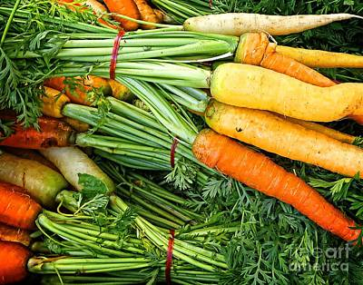 Photograph - Carrot Medley by Dee Flouton