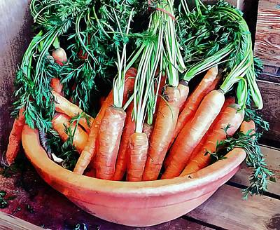 Photograph - Carrot Medley by Dorothy Berry-Lound